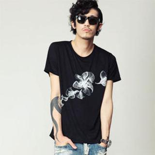 Buy SLOWBABA Printed T-Shirts 1022930545