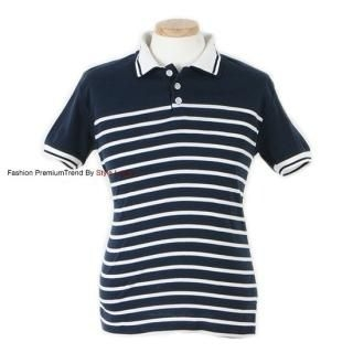 Buy Yellow Jacket Thin Striped Polo Shirt 1022571051
