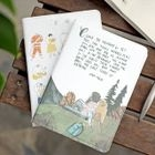 Printed Small Notebook 1596
