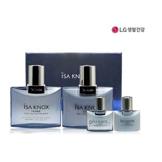 ISA KNOX - Homme Special Set: Cool Touch Aftershave 125ml + 35ml + Soft Touch Emulsion 125ml + 35ml 1596