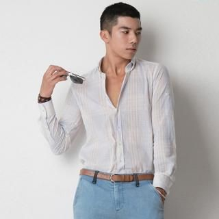 Buy MUTNAM Roll-Up Sleeve Plaid Shirt 1022944554