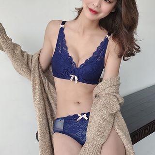 Set: Lace Bra + Panties 1064934441