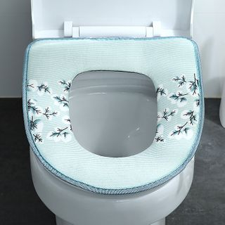 Toilet   Floral   Cover   Print   Seat