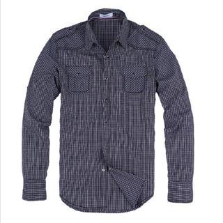 Buy Justyle Epaulette Check Shirt 1022550580
