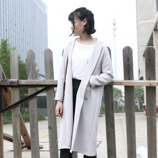 Notched Lapel Coat 1062814988