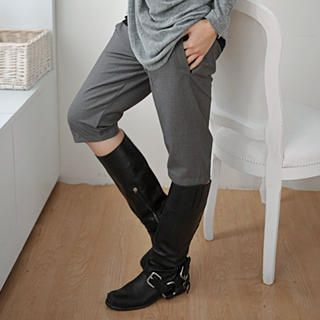 Picture of 59 Seconds Cropped Pants Gray - One Size 1021493360 (Womens Cropped Pants, 59 Seconds Pants, Hong Kong Pants)