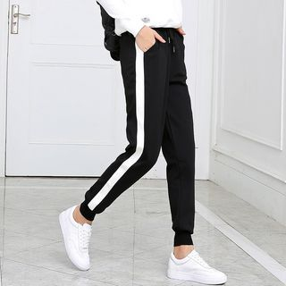 Contrast Trim Sweatpants 1055033435