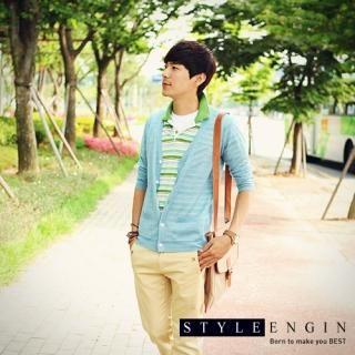 Buy Style Engine Elbow-Sleeve Knit Cardigan 1022981913