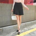 Layered Frill-Hem Mini Skirt 1596