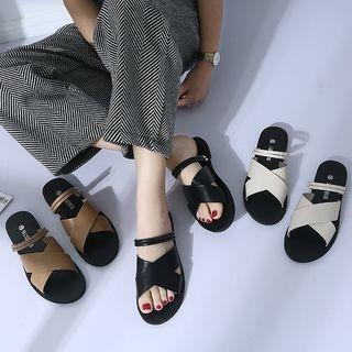 Cross Strap Sandals 1066664214