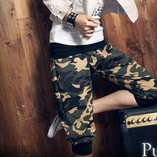 Buy PUFFY Camouflage Cropped Pants 1023003992