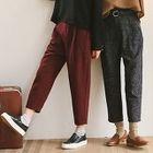 Straight-Leg Pants 1596