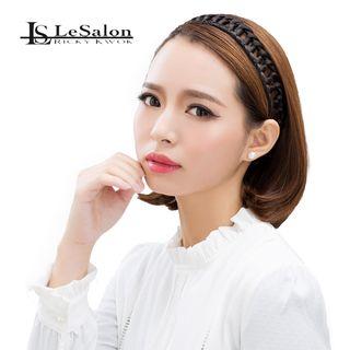 Hair Accessory - Braid Hair Band (Eye-Catching) Natural Blonde 1049586743