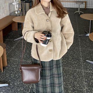 Long-sleeve | Fleece | Jacket | Plaid | Skirt | Set | Top