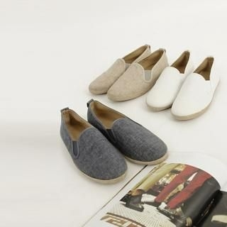 Picture of MUTNAM Hemp Slip-Ons 1022900468 (Slip-On Shoes, MUTNAM Shoes, Korea Shoes, Mens Shoes, Mens Slip-On Shoes)