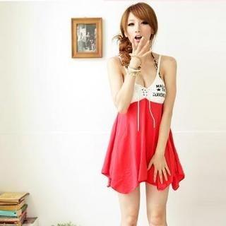 Buy Wonderland Lace up V-Neck Sundress 1023038160