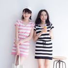 Striped Knit Dress 1596