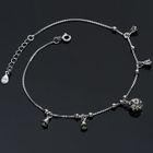 925 Sterling Silver Metal Anklet 1596