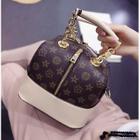 Faux Leather Handbag 1596
