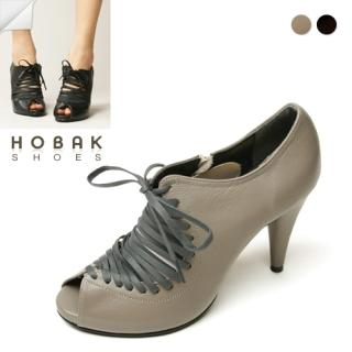 Buy HOBAK girls Genuine Leather Open-Toe Pumps 1022074495