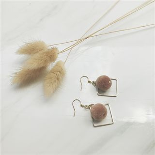 Pompom Drop Earring - United states