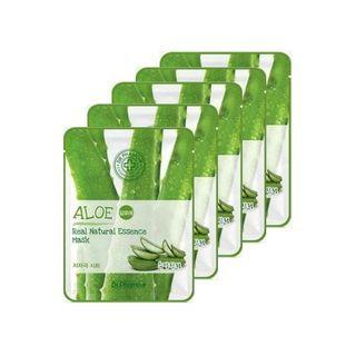 Aloe Real Natural Essence Mask 5pcs