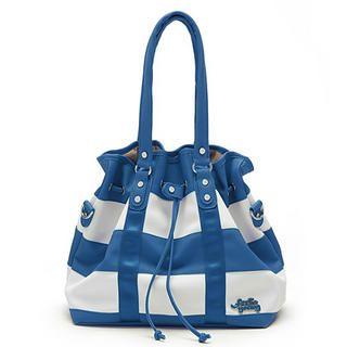 Buy Let's Fly Color-Block Handbag Blue – One Size 1022302550