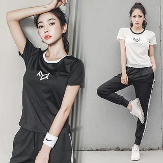 Short-sleeve   Sport   Pant   Top