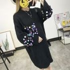 Sequined Sweater Dress 1596