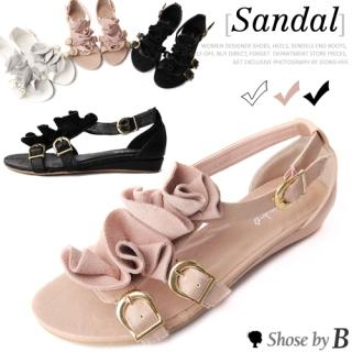 Buy Shoes by B Ruffle Accent Sandals 1022780272