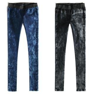 Picture of Bluemint Washed Denim Leggings 1021851240 (Bluemint Pants, South Korea Pants)