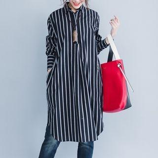 Striped Long Shirt 1062686834