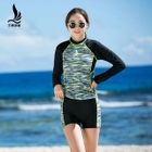 Raglan Long-Sleeve Swimsuit 1596