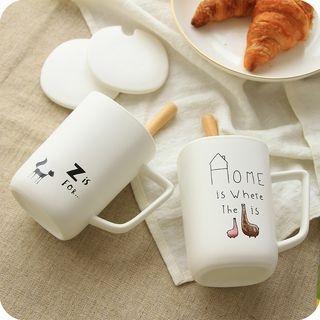 Set: Printed Cup + Lid + Spoon 1065188000