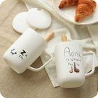Set: Printed Cup + Lid + Spoon 1596