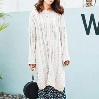Ribbed Knit Dress 1057775654
