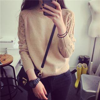 Rib Knit Pullover 1059770037