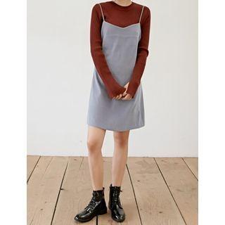 Spaghetti-Strap A-Line Dress 1053797425