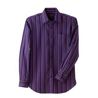 Buy Justyle Long-Sleeve Striped Dress Shirt 1021492750