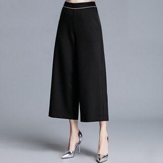 Wide Leg Cropped Pants 1052731122