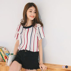 Ribbed Stripe Top 1596