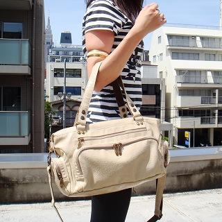 Buy anello Faux-Leather Satchel Light Beige – One Size 1020545868