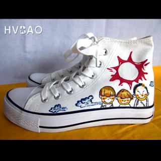 Buy HVBAO Back to School High-Top Sneakers 1020608976