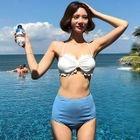 Set Of 2: Bikini Top + Swim Shorts 1596