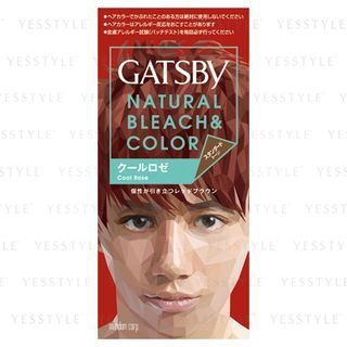 Mandom - Gatsby Natural Bleach & Color (Cool Rose) 1 set 1022091214