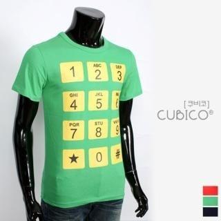 Buy CUBICO Short-Sleeve Printed Tee 1022463430