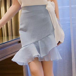 Ruffle Mini Skirt 1061069022