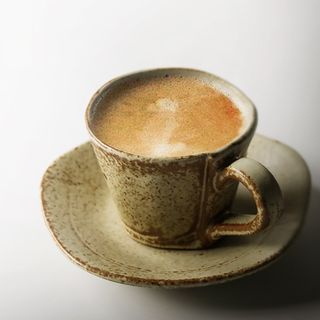 Ceramic Coffee Cup with Saucer 1065036670