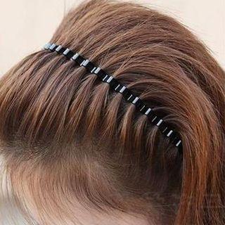 Image of Alloy Headband Black - One Size