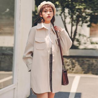 Image of Lapel Pocket Coat